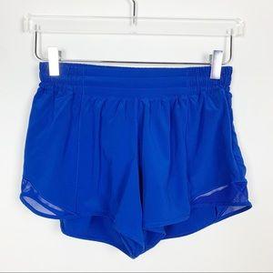 "lululemon | Hotty Hot Short II Blue 4"""